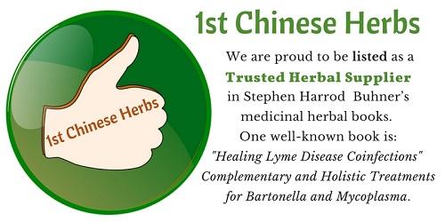 Natural herbal remedies for Lyme disease at 1stChineseHerbs.com
