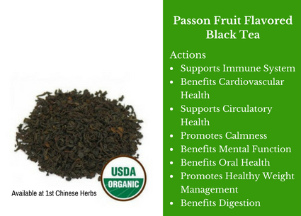 passion fruit, black tea, passion tea, traditional bulk herbs, bulk tea, bulk herbs, teas, medicinal bulk herbs