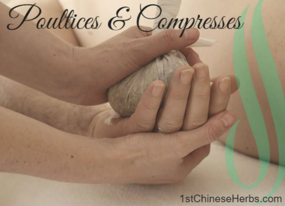 Poultices & Compresses from 1stChineseHerbs